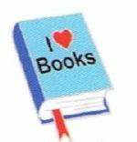 I Love Books - Enamel Charm